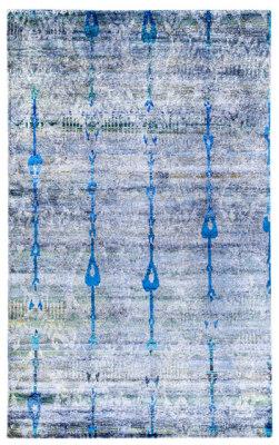 Kundan Diffusion Koti Silk Ikat by Zollanvari