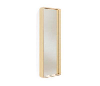 Kvadrat wall mirror by Materia