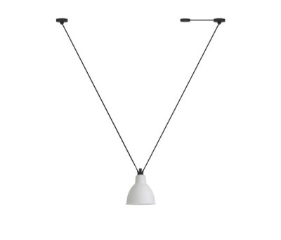 LAMPE GRAS | LES ACROBATES DE GRAS - N°323 frosted glass by DCW éditions