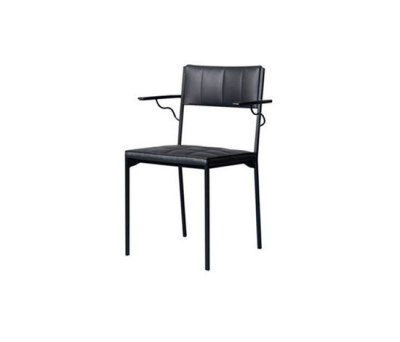 Laszlo Chair with armrests by Palau