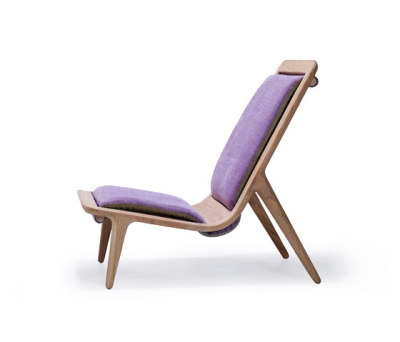 LayAir 01 High Armchair by Hookl und Stool