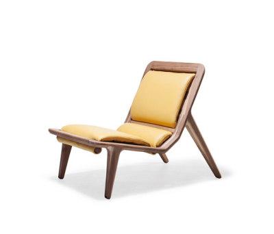 LayAir 02 Low Armchair by Hookl und Stool