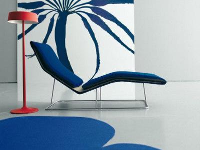 Leaf chaise longue by Living Divani