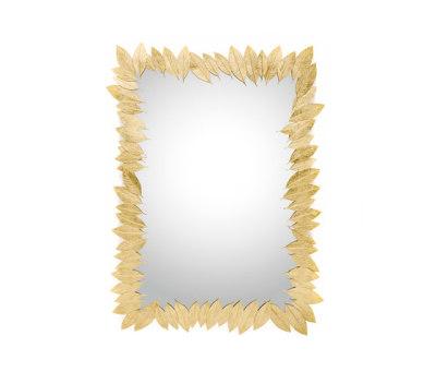 Leaf | Rectangular Mirror by GINGER&JAGGER