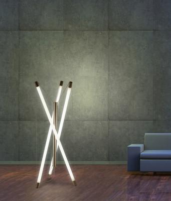 Light Structure T3 floor luminnaire by Archxx