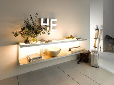 Lighting system 6 Wall shelf by GERA