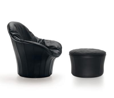 Lips Armchair & Stool by ARFLEX
