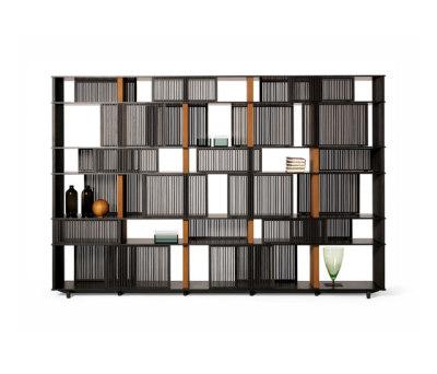 Lloyd bookcase by Poltrona Frau