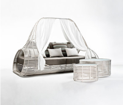 Lolah Daybed by Kenneth Cobonpue