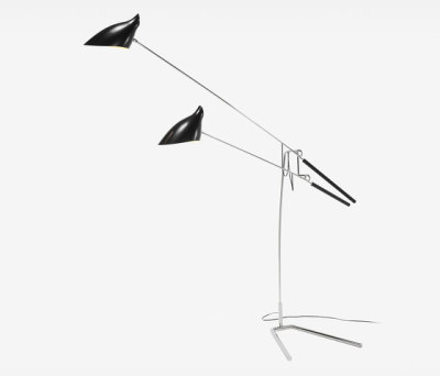 Loop & Hook Standing Lamp No 308 by David Weeks Studio