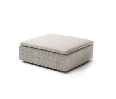 Lou Footstool by DEDON