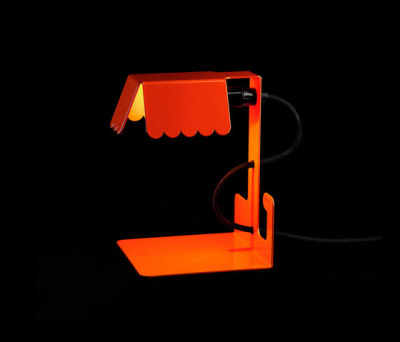 Lucy Table lamp Orange by Bsweden