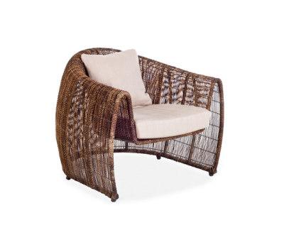 Lulu Easy Armchair by Kenneth Cobonpue