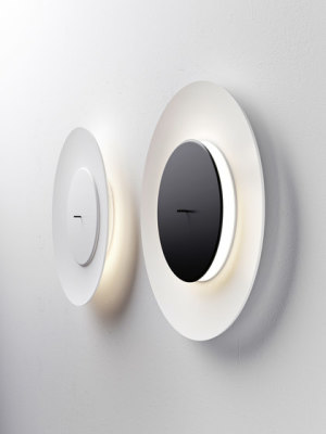 Lunaire wall and ceiling lamp by FontanaArte