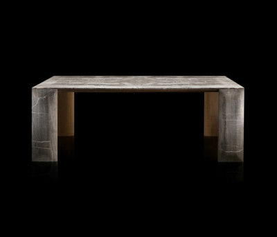 LY-Table Stone - Wood by HENGE