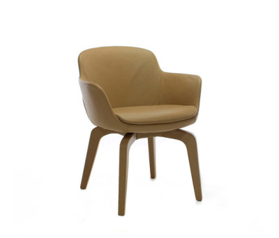 Magò leather | chair by Mussi Italy