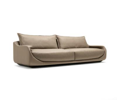 Martini Two-seat Sofa by Giorgetti