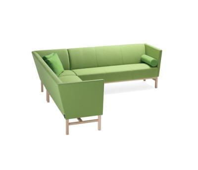 Minimal corner sofa by Materia