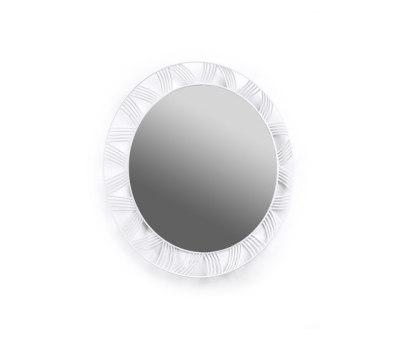Mirror Round white by Serax