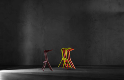 Miura stool 8200-00 by Plank