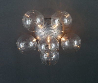 Molecule Diam Ceiling light 46 PL 6 by HARCO LOOR