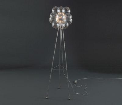 Molecule Diam Floor Lamp 38 FL 12 by HARCO LOOR