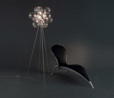 Molecule Diam Floor lamp 50 FL 12 by HARCO LOOR