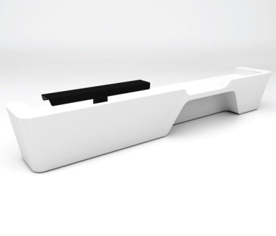Mono Desk configuration 6 by isomi Ltd