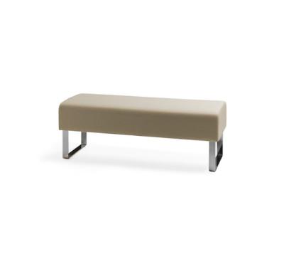 Monolite bench by Materia