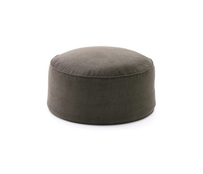 Moon pouf round by Fast