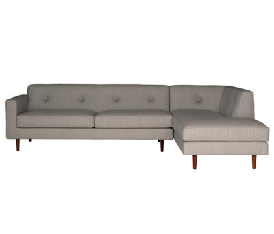 Moulton 3 seat sofa + corner unit by Case Furniture