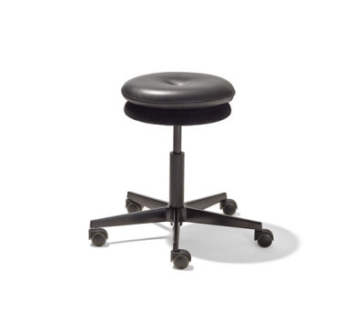 Mr. Round swivel stool by Lampert