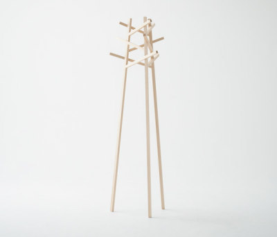 Nadia Coat Stand Natural by Meetee