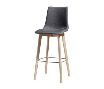 Natural Zebra Pop stool by Scab Design