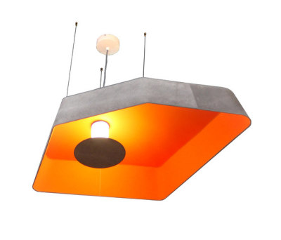 Nenuphar Pendant light large LED by designheure