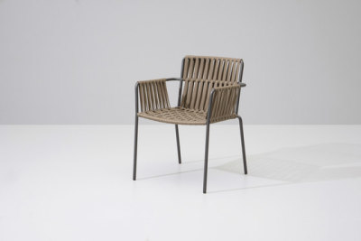 Net dining armchair by KETTAL