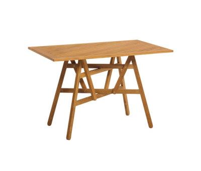 Nods Folding Table rectangular by Atelier Pfister