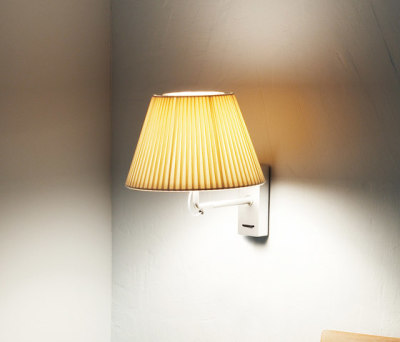 Nolita Cotton wall lamp by Marset
