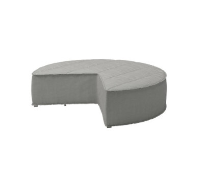 Nomad Quadrant Ottoman by Gloster Furniture