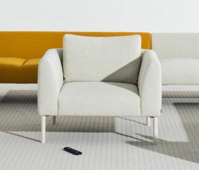 Nooa armchair by Martela Oyj