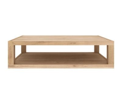 Oak Duplex coffee table by Ethnicraft