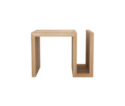 Oak Naomi side table by Ethnicraft