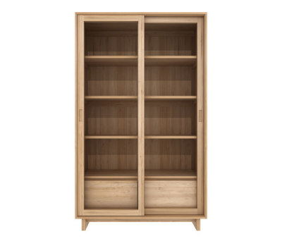 Oak Wave bookcase by Ethnicraft