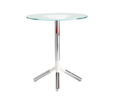 Obilite pillar table by Materia