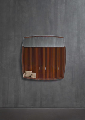 Olivier Wall mirror by Flou