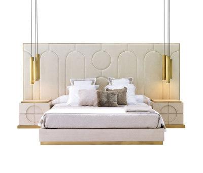 Parma bed set by MOBILFRESNO-ALTERNATIVE