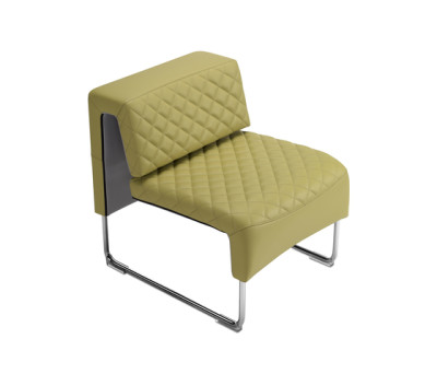 Path diamond armchair by SitLand