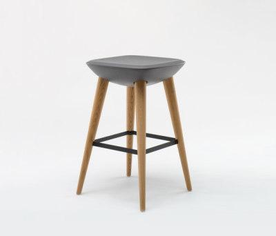 Pebble Barstool by De Vorm