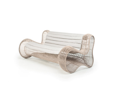 Pigalle Loveseat by Kenneth Cobonpue