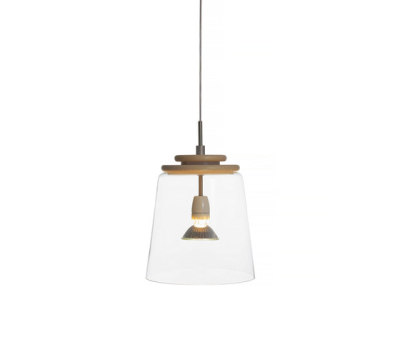Ping 30 pendant clear/ ash by Bsweden